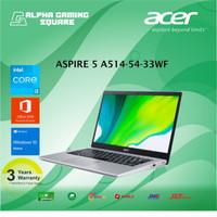 Acer Aspire 5 A514-54-33WF-Core i3-1115G4/4GB/SSD512/14HD/WIN10+OHS