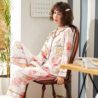 Baju tidur wanita piyama import stelan PP big size - M