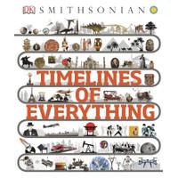 Buku Timelines of Everything by DK, Smithsonian (WARNA)
