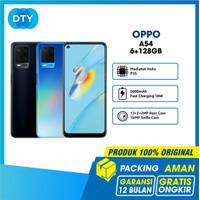 OPPO A54 Smartphone 6GB/128GB (Garansi Resmi) - Hitam, Non Bundle