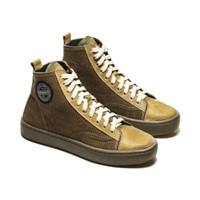 Sepatu Sneakers Kulit Pria Exodos57 Elegante Green Olive