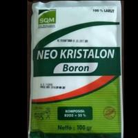Pupuk Neo Kristalon Boron Pak Tani 100 gr KEMASAN PABRIK