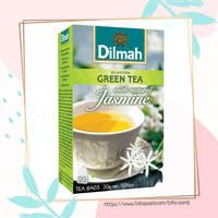 Dilmah Green Tea with Natural Jasmine