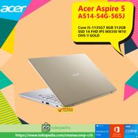 Acer Aspire5 A514-54G-565J Ci5-1135G7/8GB/512GBSSD//FHD/MX350/W10/GOLD