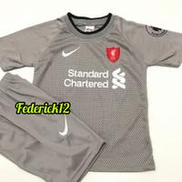 Stelan baju bola anak liverpool abu termurah jersey terbaru - liverpool abu, 4