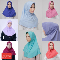 ZOYA heiq hijab instan anti bakteri - jilbab kerudung bergo olahraga