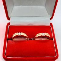3BR05-cincin tunangan emas kuning perhiasan emas asli 700 CMK4121818