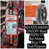90/90-17 Maxxis M6239 ON/OFF Road - Ban Motor Ring 17 Dual Purpose