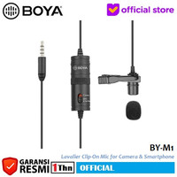 BOYA BY-M1 Lavalier Clip on Mic Microphone for DSLR Camera Smartphone