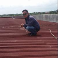 Bongkar pasang atap lama ganti baja ringan dan atap spandek berpasir