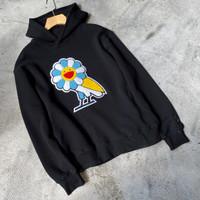 Hoodie October's Very Own OVO X TAKASHI MURAKAMI Flower Owl Logo