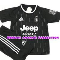 Baju stelan kaos bola anak musim terbaru tahun 2021/2022 lengkap murah - Juve hitam, 10