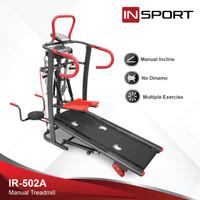 Alat Fitness Treadmill Manual Insport 502A
