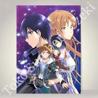 Poster Sword Art Online Alicization War of Underworld SAO Paper Canvas