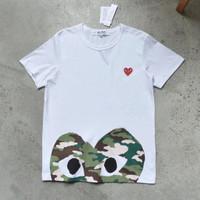 UNISEX Kaos Tshirt Play CDG Heart Logo