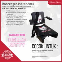 Kursi Bangku Boncengan Bonceng Anak Motor Nmax PCX Karakter Hello kity