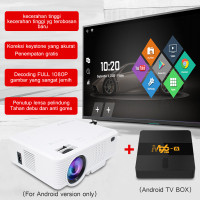 Proyektor LED-tripsky-1080P HD home theater T3 mini proyektor