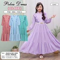 ( Size 3 - 12 Tahun ) Baju dress Anak perempuan / Dres anak cewek - SB