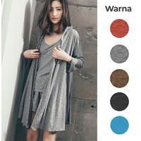 Baju Tidur/Piyama Wanita 1 Set Outer Tersedia Big Size - PY06