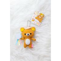 Rilakkuma 7th Happy Music Mascot 7 cm Plush Doll Strap original San-x
