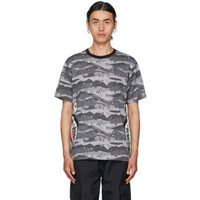 BAPE Desert Camo Side Shark T-shirt Grey 100% Original
