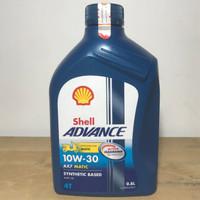 OLI MOTOR SHELL ADVANCE AX7 MATIC 0,8 L ( BARCODE SCAN )