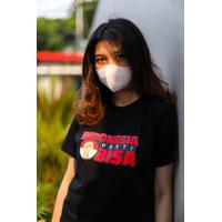 T-shirt Indonesia Pasti Bisa - Hitam