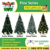 Pohon Natal Premium Tinggi 1,5 Meter 150 Cm / 5 Feet Daun Pinus Pine