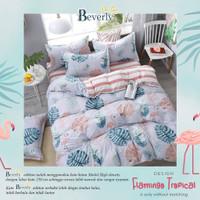 Bed Cover SINGLE Size Katun Panca CVC Tanpa Sprei
