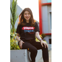 T-shirt Indonesia Pasti Bisa Pernah Isoman - Hitam