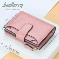 BAELLERRY N2349 Dompet Wanita Kecil Bahan Kulit PU Leather