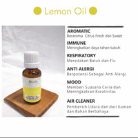 Afresh - 20mL Lemon Essential Oil Aromatherapy Diffuser/Humidifier