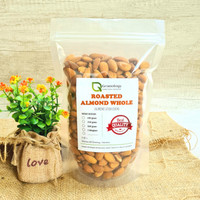 Kacang Almond Utuh Oven / Roasted Whole Almond (500 gram) by Granology