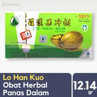 Herbal China - LO HAN KUO 220gr - Obat Herbal Pereda Panas Dalam
