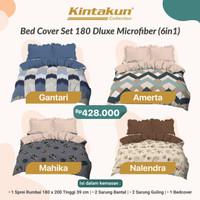 bad cover kintakun set dluxe minimalis 180x200