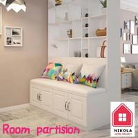Partisi Penyekat Ruangan Custom Minimalis Modern