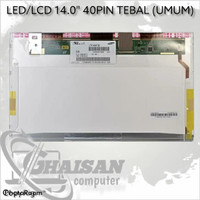 LCD LED LAYAR Laptop Toshiba C600 C640 L600 L640 L645 L740 L745