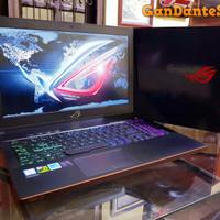Asus ROG Zephyrus GM501 Slim Gaming Desain Laptop i7 w/ GTX 1070 8 GB