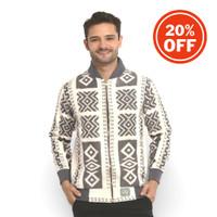 Jaket Army Batik Pria Tenun Blanket Troso Limited