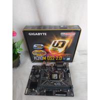 Paket Mainboard Gigabyte H310M DS2 & Processor Intel I3-9100F Garansi
