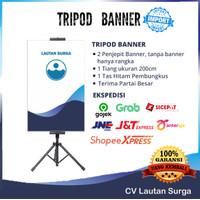 Tripod Banner/ Stand Banner TRIPOD POSTER / TRIPOD Display BERDIRI