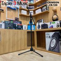 Crimson CR120 Stand Mic Microphone Berdiri boom stand mic tripod