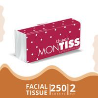 Montiss Facial Tissue 250 Sheets