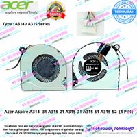 Fan Kipas Laptop Acer Aspire A314-31 A315-21 A315-31 A315-51 A315-52