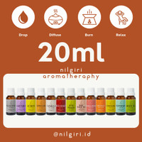 Essential Oil - Aroma Terapi - Aromatheraphy Humidifier Diffuser 20mL