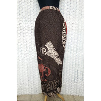 Rok Batik Panjang Model Rok Sarung Batik Pesta Motif Merak Manis Coklt