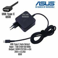 Charger Adaptor Asus Zenbook UX370 UX370U UX370UA 45W USB Type C