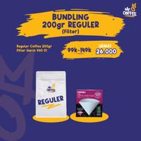 Bundling Hemat kopi 200g + Paper Filter v60 01