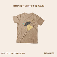 Kaos Anak Rizigo Kids Series UFO - Kaos Anak Laki Laki