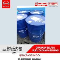 HINO DIFF OIL GL-5 140, 200L. S041026410